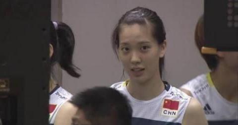 刘晏含和郑益昕作为中国女排队花 不仅颜值在线 而且实力雄厚