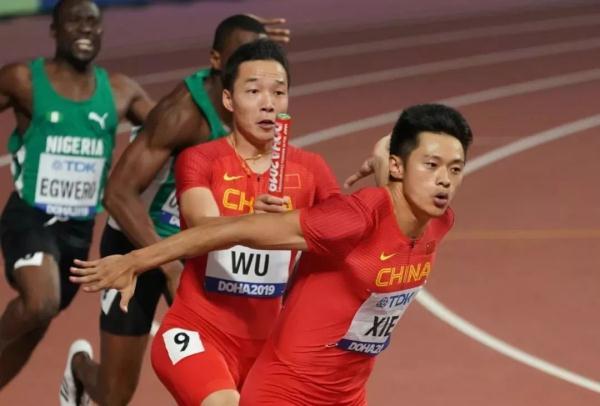 历史首次!中国田径男女4×100米接力晋级决赛!