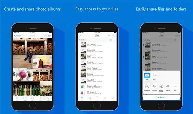 微软OneDrive iOS版更新,支持苹果iPad多窗口模式