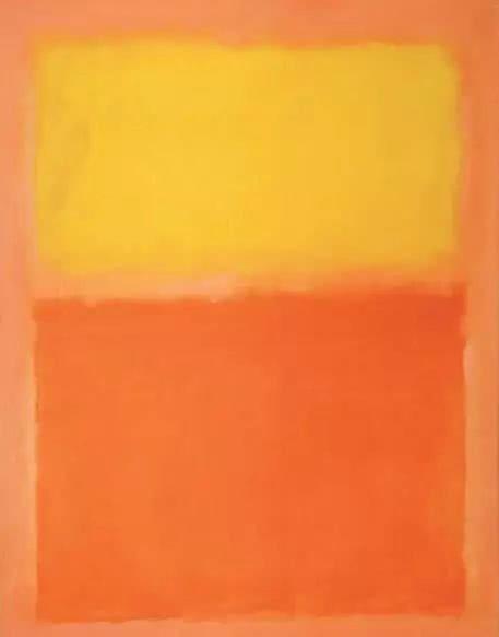 俄裔美国画家马克·罗斯科的抽象艺术