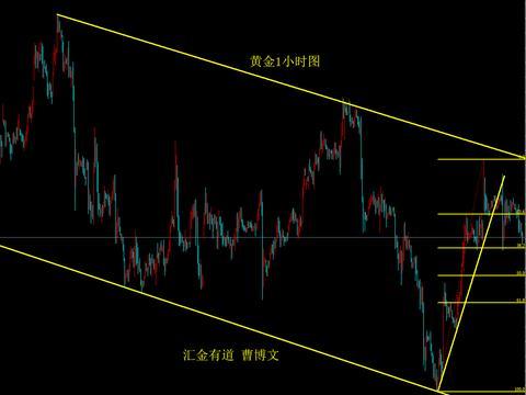 汇金有道-曹博文:黄金的50%斐波那契回调位支撑
