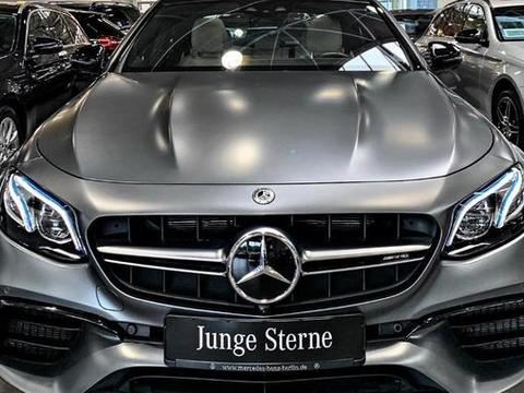 奔驰AMG E63S 4Matic,液态金属外观