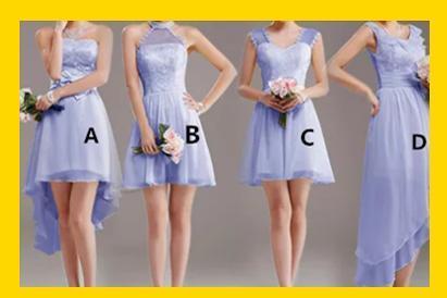 心理测试:选一件伴娘礼裙!测你最让异性欲罢不能的优点