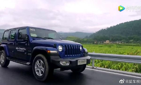视频:试驾Jeep牧马人,座椅柔软度和空间都比上一代更加进步!