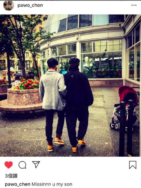 陈坤晒与儿子同框照,17岁儿子身高赶超爸爸,尽显书香气质