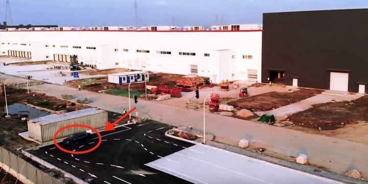 特斯拉上海工厂测试跑道国产Model 3内测 或下周投产