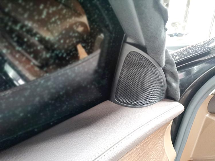 沈阳改车载音响哪个效果好?兴康达E300音响无损改装柏林之声