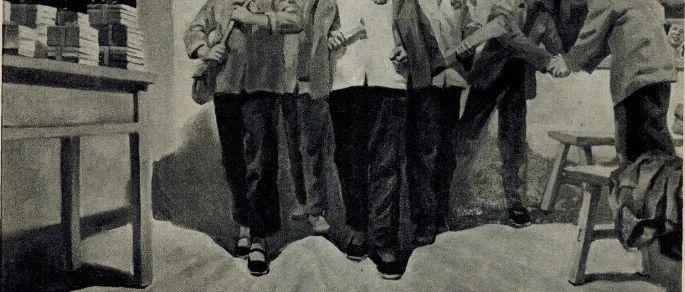 广阔天地大有作为  70年代知青宣传画  陈丹青的大作