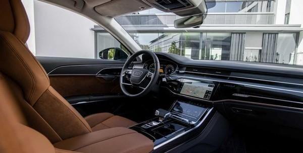新款奥迪A8混动版官图放出:3.0 V6/纯电续航40公里