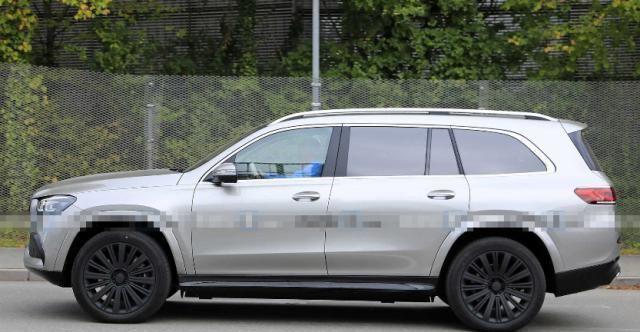 奔驰-迈巴赫GLS低伪装路试谍照 有望11月洛杉矶车展亮相