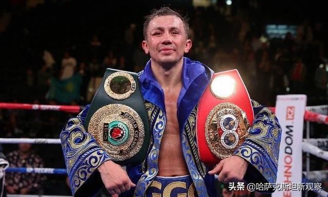 """""""托卡耶夫、纳扎尔巴耶夫祝贺戈洛夫金再封世界拳王"""""""