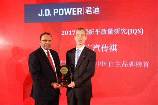 传祺获得2019中国新车质量榜单自主品牌第一,自主品牌正在崛起!