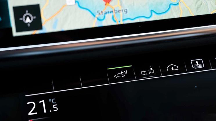 新款奥迪A8插电混动版官图放出,我们要将电气化进行到底!