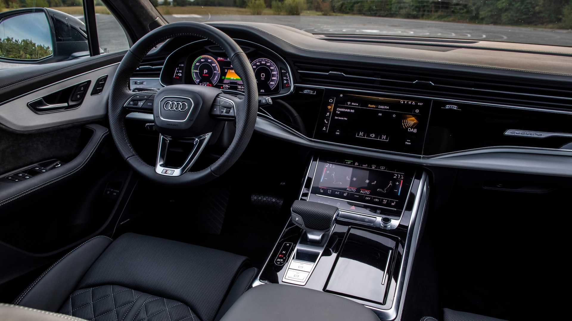 3.0升V6发动机+电动机 2020款奥迪Q7插混版官图