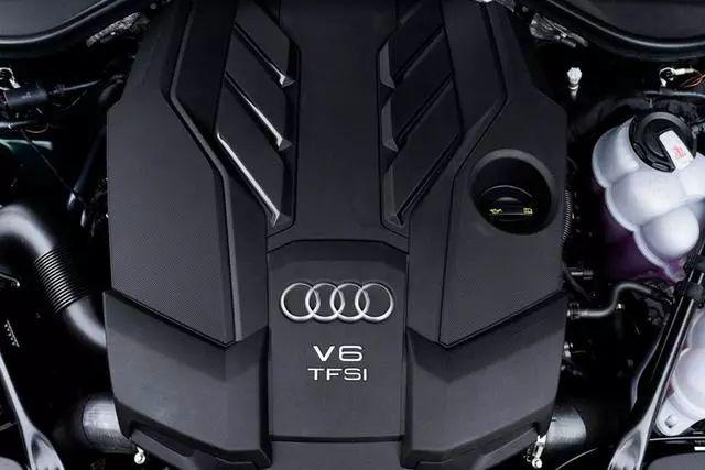 动力猛还省油 新款奥迪A8插混版官图发布
