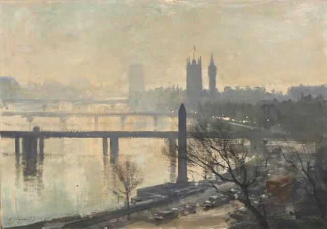 欧洲艺术家绘画作品欣赏——英国画家Edward Seago
