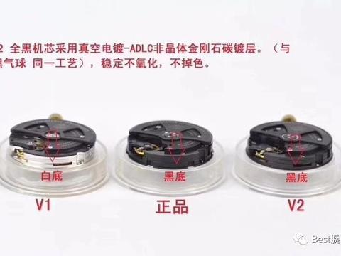 Best腕表:VS厂v2版本复刻潜水表沛纳海pam438机芯鉴别