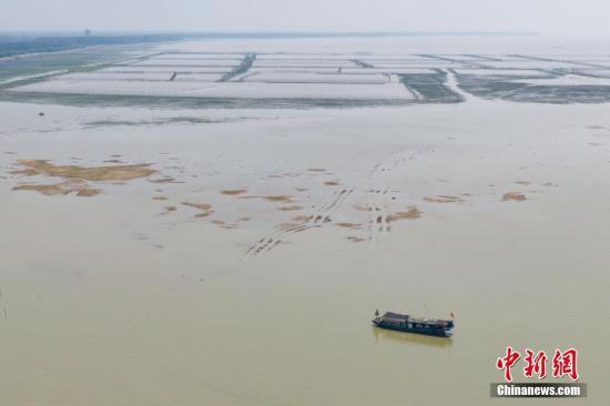 江苏发布洪泽湖枯水蓝色预警全力组织水源补水