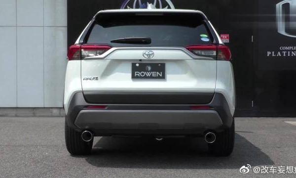 视频:增添一点性能感,新款丰田RAV4荣放改装排气效果试听