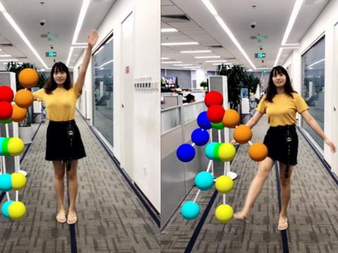 百度AR让3D体感走进日常,每部手机都可以来一场虚实互动