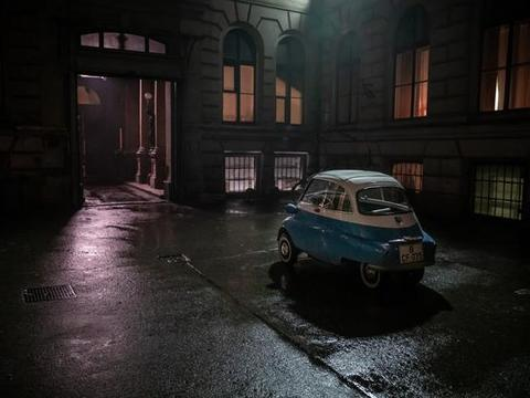 """奔向""""自由""""的BMW Isetta"""