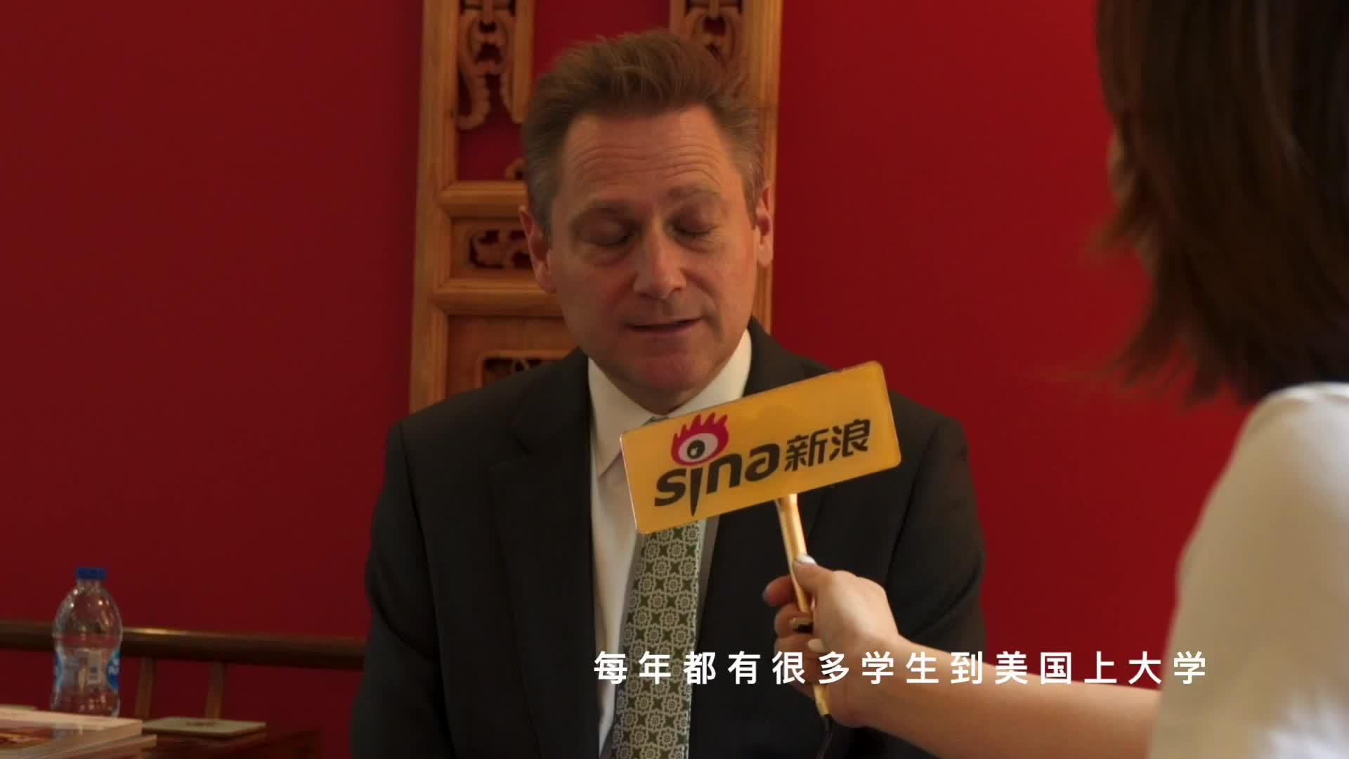 视频-天津惠灵顿校长和飞乐国际高尔夫院长专访