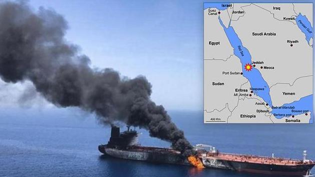 伊朗油轮在沙特附近海域发生两次爆炸,疑遭恐怖袭击,暂无伤亡
