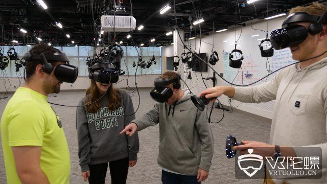 美国科罗拉多州立大学推VR实验室,可同时容纳100名学生