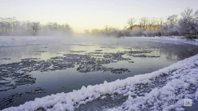 冬天的北海道这么美?就可以!钏路作为北海道道东最大的城市