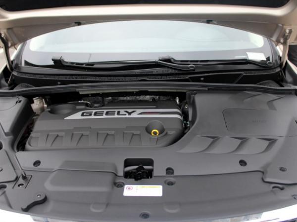 搭1.8L自吸发动机 吉利帝豪GS甲醇版车型亮相