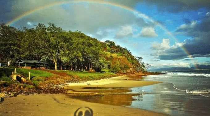 心理测试:七色的彩虹也暗含深意,从中看出你最需要什么!