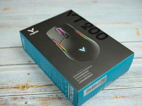 实用竞技派,体验搭载定制芯片的雷柏VT200游戏鼠标