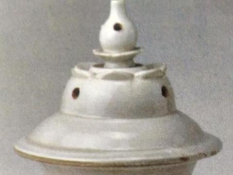 定窑白釉瓷五足香炉——生产成本的降低