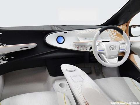 """车身造型神似""""小鼠标""""丰田LQ概念车官图发布 强化智能行车体验"""