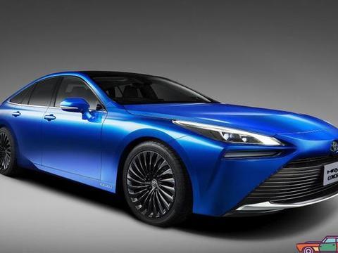 丰田预告二代氢气动力车Mirai将车展现身