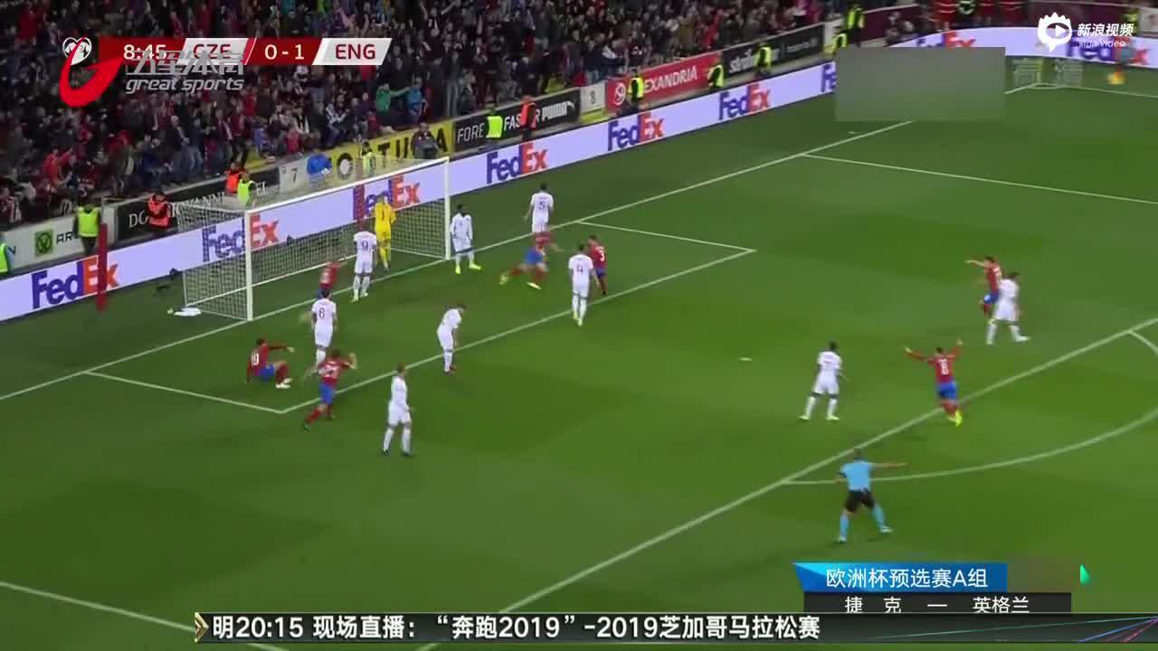 视频-客场遭捷克逆转 英格兰10年来预选赛首败