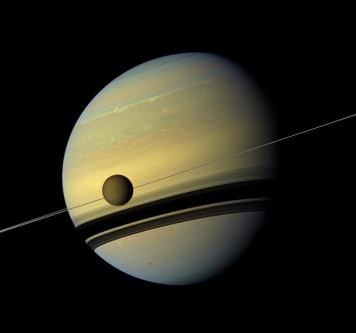 进入未知世界:卡西尼号,一项研究土星的大胆任务