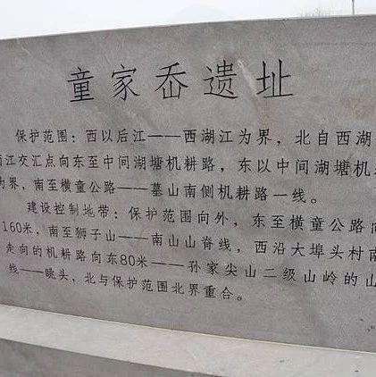 """新石器时代的慈溪童家岙遗址申报""""国保"""",距今有5300至7000年!"""