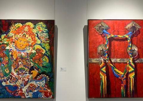 """丝路上的艺术宝库 """"光、形、色、质、韵""""绘画摄影展在沪开幕"""