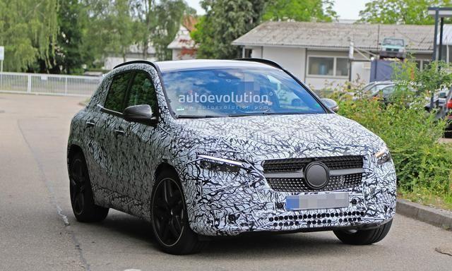 有望于未来国产上市,全新奔驰AMG GLA 35测试谍照曝光