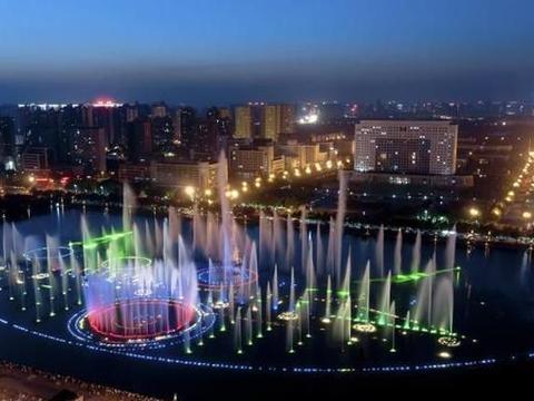 洛阳十处夜景,都市风光媲美北京上海,历史景观再现千年圣城