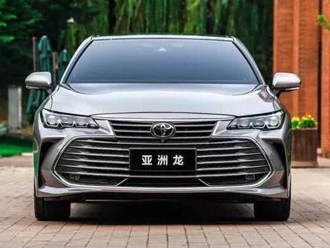 """丰田主力家轿,全新""""亚洲龙""""上市售价区间为19.98-23.98万元。"""