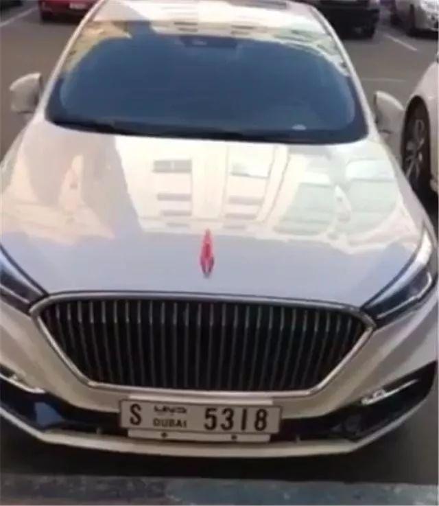 红旗H5出口迪拜却被用来当出租车,我大红旗怎么走到这一步了?
