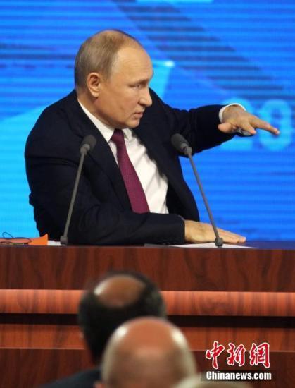 俄罗斯总统普京:军备竞赛不会给世界带来好结果