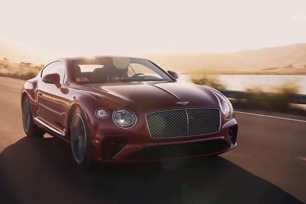 视频:汽车视频:2020年红色宾利欧陆GT V8