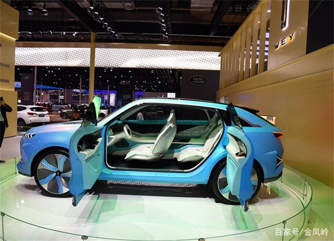 国产车又添一名战将!长城概念SUV科技范十足,又一款大气之作