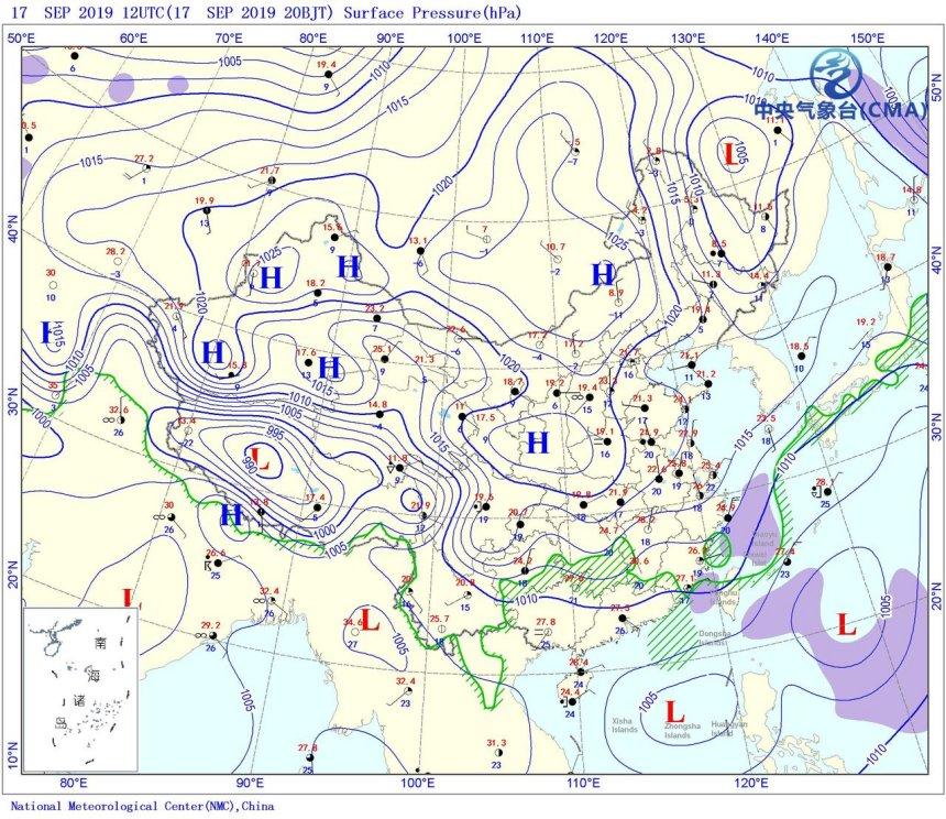 双胚胎变双低压!两广天气在大变,局部暴雨抵达,小台风马上来?