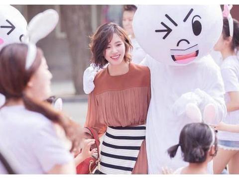 刘诗诗融入童话世界,化身粉红小兔兔,31岁还能如此少女心
