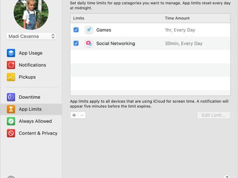如何在macOS Catalina的Mac上设置屏幕时间?
