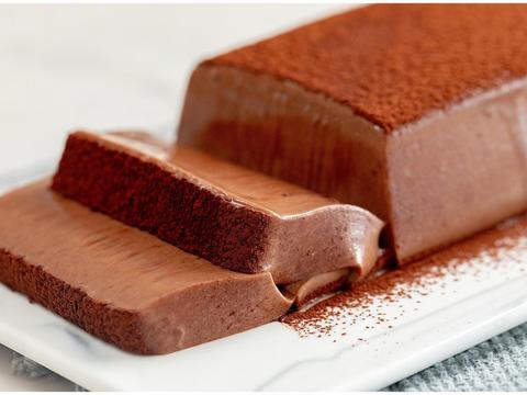 秋天怎么吃巧克力慕斯砖 细腻润滑